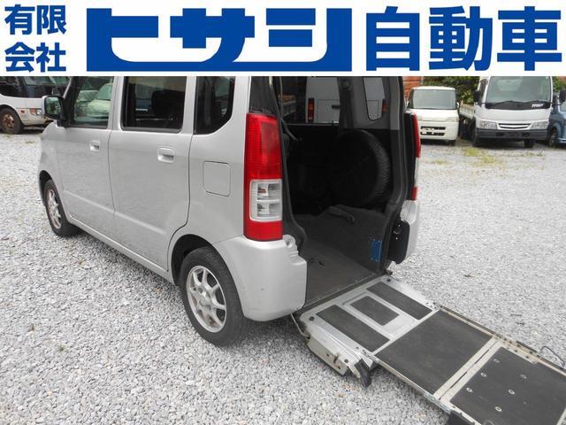 名護市 ヒサシ自動車 スズキ ワゴンR 介護車輌 部品取り 車ごと販売車 シルバー 14.5万km 2005(平成17)年