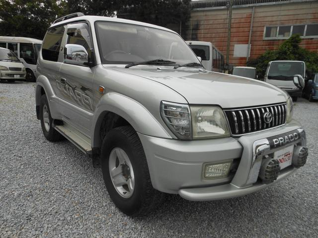 沖縄県の中古車ならランドクルーザープラド RX パッケージI  ディーゼルターボ 4WD