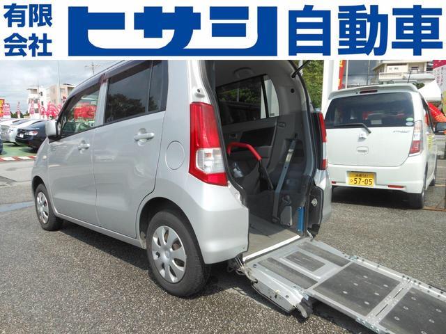 沖縄の中古車 スズキ ワゴンR 車両価格 55万円 リ済込 2010(平成22)年 1.7万km シルバー