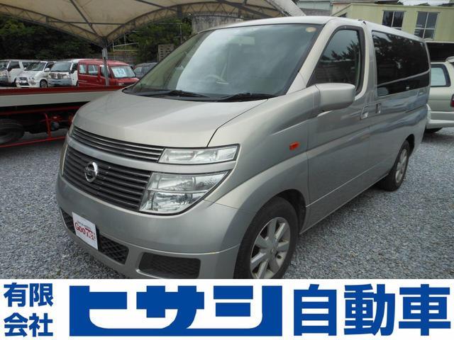 沖縄の中古車 日産 エルグランド 車両価格 40万円 リ済込 2008(平成20)年 11.5万km ゴールド
