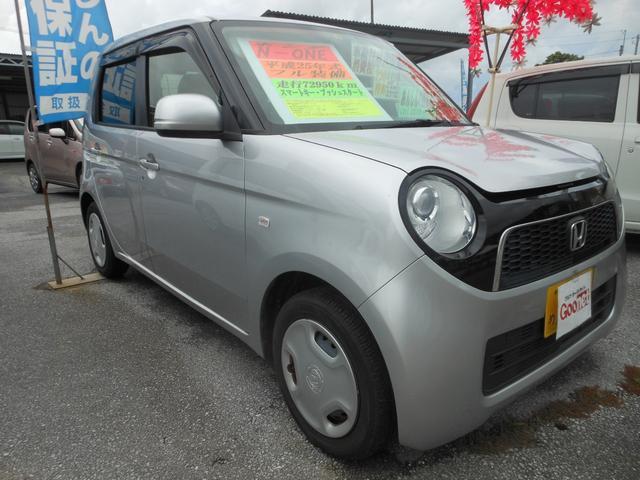 沖縄の中古車 ホンダ N-ONE 車両価格 66万円 リ済込 2013(平成25)年 7.3万km シルバー