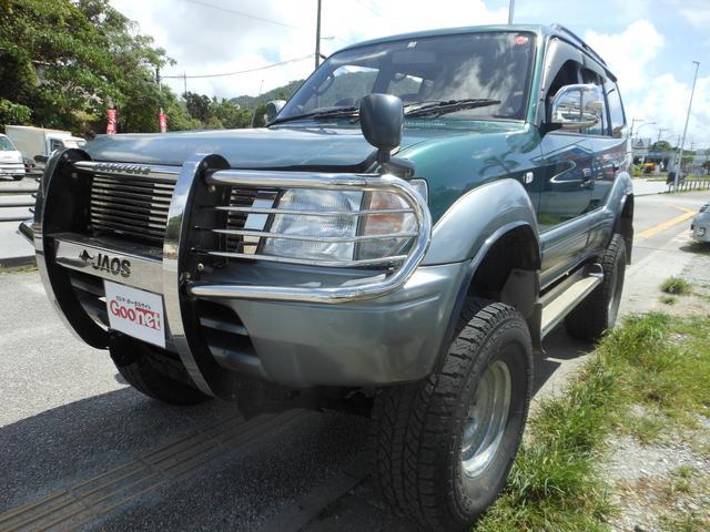 沖縄の中古車 トヨタ ランドクルーザープラド 車両価格 89万円 リ済込 1996(平成8)年 18.5万km グリーンII