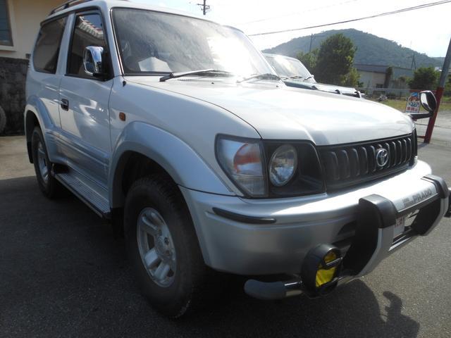 沖縄県の中古車ならランドクルーザープラド RX ディーゼルターボ4WD サンルーフ