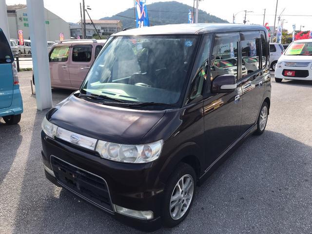 沖縄県沖縄市の中古車ならタント L 助手席エアバッグ無し クーラー故障 現状車