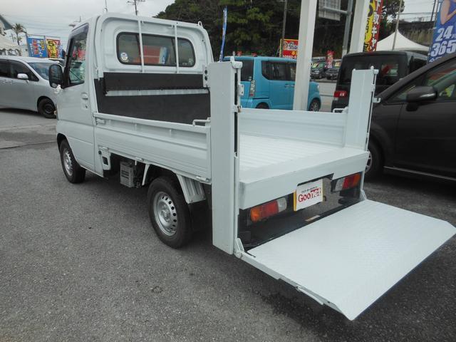 沖縄の中古車 三菱 ミニキャブトラック 車両価格 56万円 リ済込 2008(平成20)年 11.7万km ホワイト