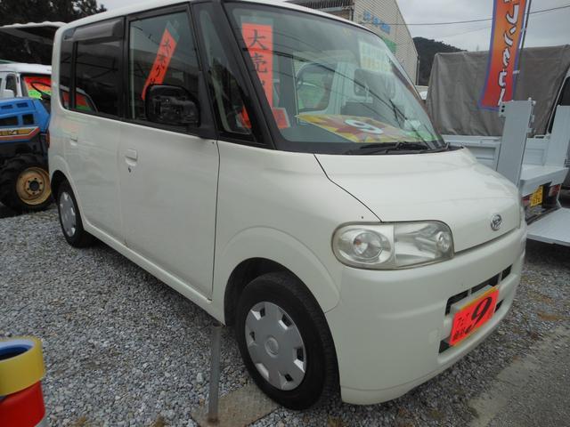沖縄の中古車 ダイハツ タント 車両価格 7万円 リ済込 2006(平成18)年 14.3万km ホワイト