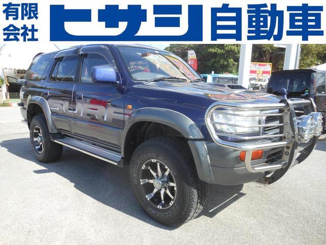 沖縄県の中古車ならハイラックスサーフ SSR-G ワイド ディーゼル 4WD 現状車