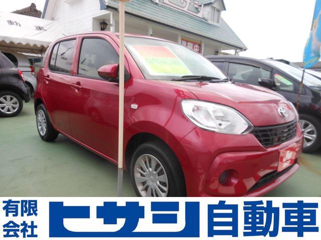 沖縄県の中古車ならパッソ X LパッケージS 禁煙車 レーダーサポート スマートキー