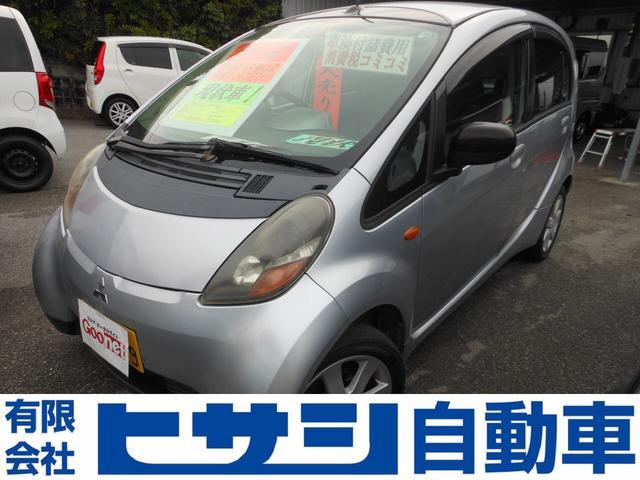 沖縄の中古車 三菱 アイ 車両価格 8万円 リ済込 2007(平成19)年 14.1万km シルバー