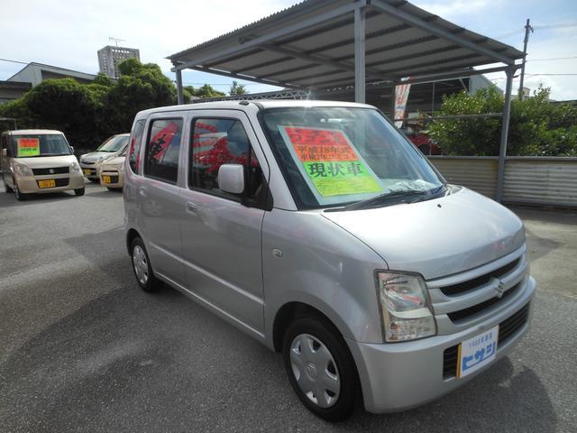 沖縄県中頭郡中城村の中古車ならワゴンR 現状車