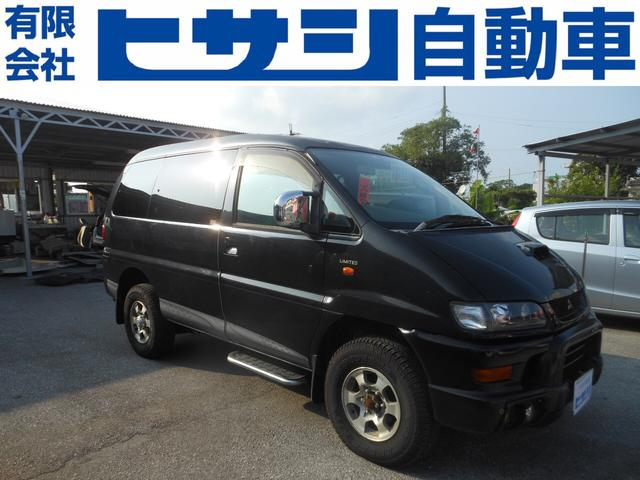 沖縄県の中古車ならデリカスペースギア 20thアニバーサリーリミテッド 現状車 2800ディーゼル 4WD