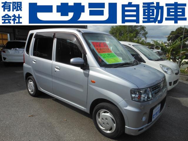 沖縄の中古車 三菱 トッポ 車両価格 33万円 リ済込 2011(平成23)年 9.6万km シルバー