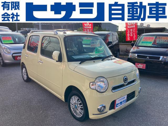 沖縄の中古車 ダイハツ ミラココア 車両価格 32万円 リ済込 2012(平成24)年 9.4万km イエロー