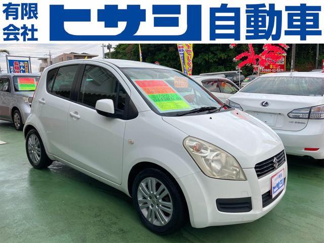 沖縄の中古車 スズキ スプラッシュ 車両価格 33万円 リ済込 2011(平成23)年 6.4万km ホワイト