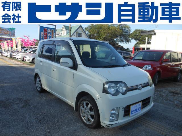 沖縄の中古車 ダイハツ ムーヴ 車両価格 8万円 リ済込 2006(平成18)年 15.9万km ホワイト