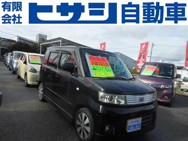沖縄の中古車 スズキ ワゴンR 車両価格 26万円 リ済込 2007(平成19)年 10.5万km ブラック