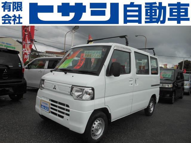 沖縄県名護市の中古車ならミニキャブバン CD 5速 4WD エアコン パワステ