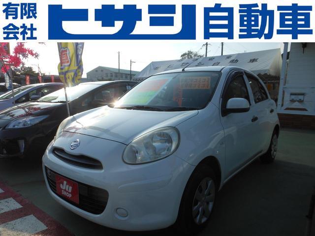 沖縄の中古車 日産 マーチ 車両価格 52万円 リ済込 2012(平成24)年 2.8万km パール