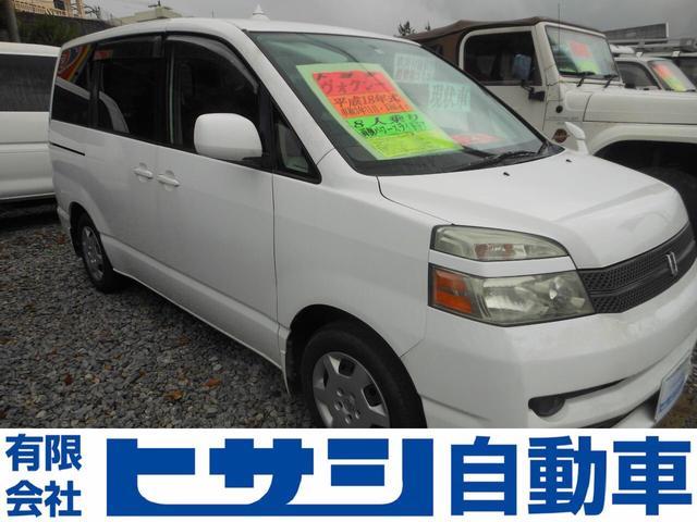 沖縄の中古車 トヨタ ヴォクシー 車両価格 28万円 リ済込 2006(平成18)年 12.4万km ホワイト