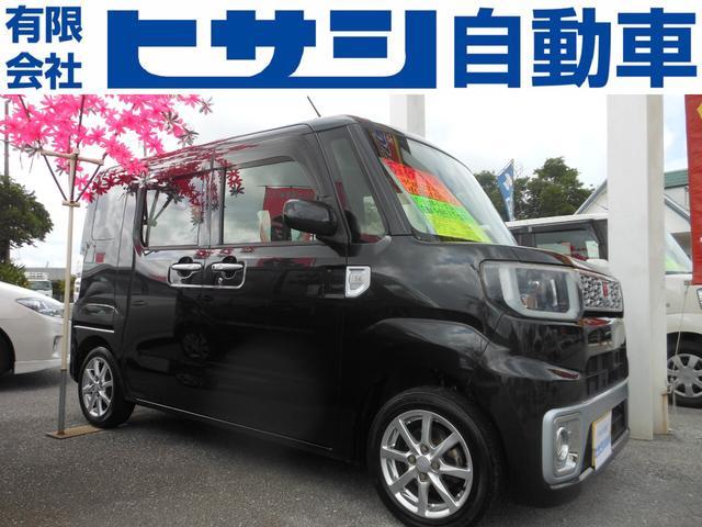 沖縄県の中古車ならウェイク X SA プッシュスタート 左側パワースライドドア