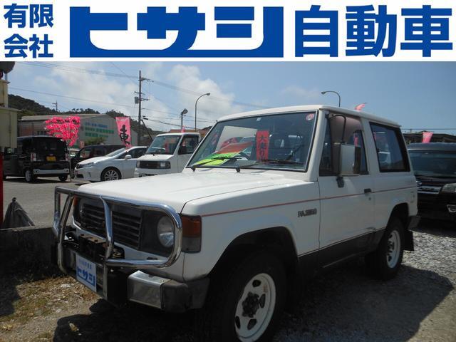 沖縄県の中古車ならパジェロ  5速 ディーゼルターボ 4WD