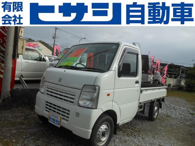 沖縄の中古車 スズキ キャリイトラック 車両価格 45万円 リ済込 2010(平成22)年 1.4万km ホワイト