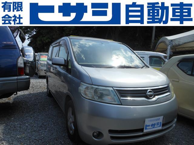 名護市 ヒサシ自動車 日産 セレナ  現状車 シルバー 16.6万km 2006(平成18)年