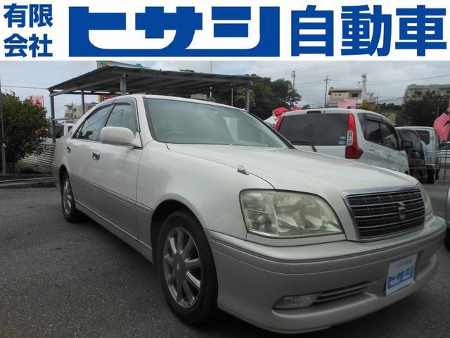 沖縄県の中古車ならクラウン ロイヤルサルーン 外装現状