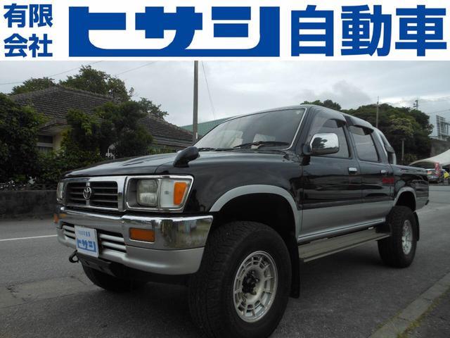 沖縄県の中古車ならハイラックスピックアップ ダブルキャブ SSR-X ディーゼルターボ 4WD
