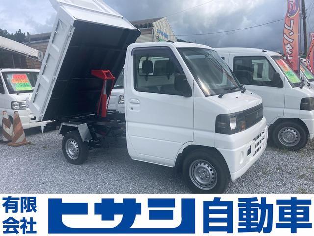 沖縄県の中古車ならミニキャブトラック ダンプ 5速 4WD PTOダンプ オールペン&さび止め済