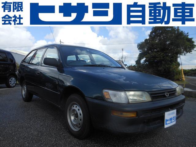 沖縄の中古車 トヨタ カローラバン 車両価格 29万円 リ済込 1998(平成10)年 9.5万km 紺