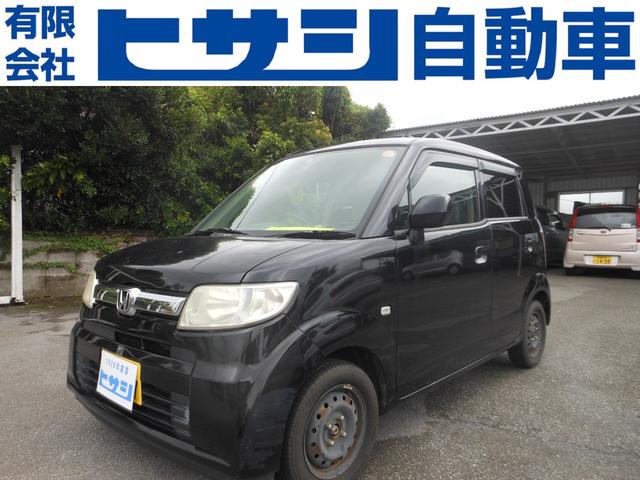 沖縄の中古車 ホンダ ゼスト 車両価格 13万円 リ済込 2006(平成18)年 12.7万km ブラック