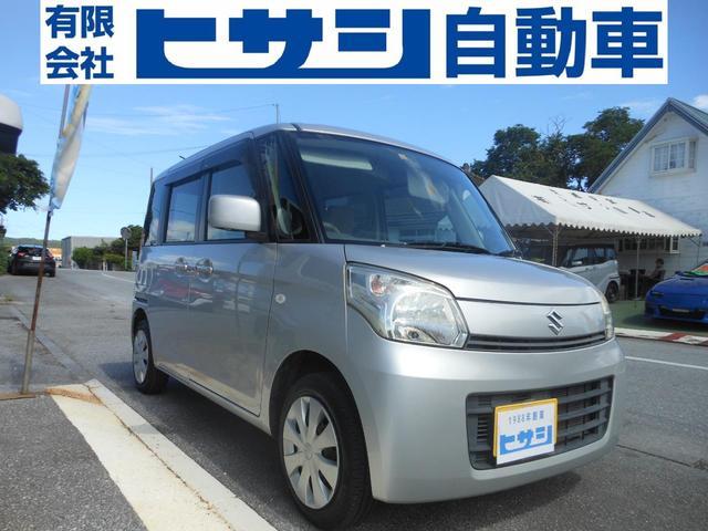 沖縄県の中古車ならスペーシア X 左側パワースライドドア プッシュスタート