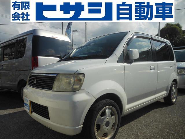 沖縄の中古車 三菱 eKワゴン 車両価格 8万円 リ済込 2004(平成16)年 13.5万km ホワイト