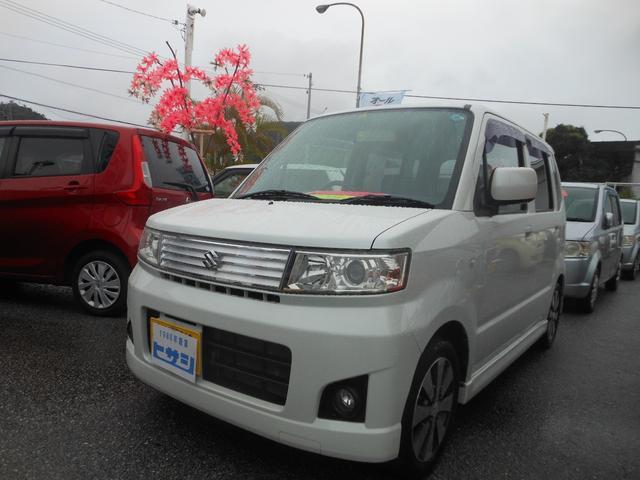 沖縄の中古車 スズキ ワゴンR 車両価格 22万円 リ済込 2007(平成19)年 12.7万km ホワイト