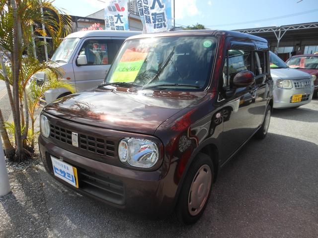 沖縄の中古車 スズキ アルトラパン 車両価格 46万円 リ済込 2013(平成25)年 10.6万km ブラウン