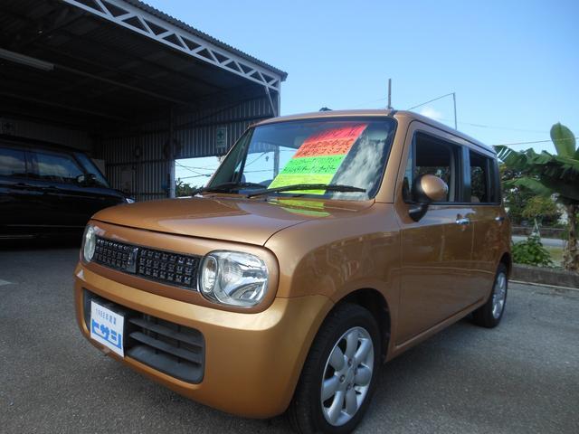 沖縄県名護市の中古車ならアルトラパン XL プッシュスタート アイドリングストップ