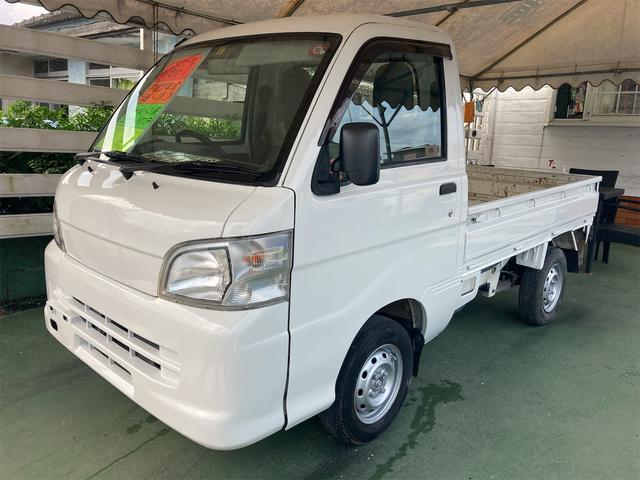 沖縄県の中古車ならハイゼットトラック  5速 4WD エアコン パワステ オールペン済
