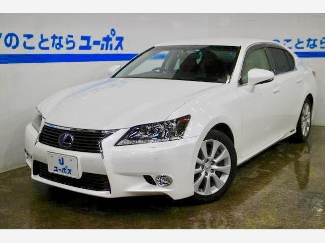 沖縄県の中古車ならGS GS300h Iパッケージ OP5年保証対象車 純正ナビ