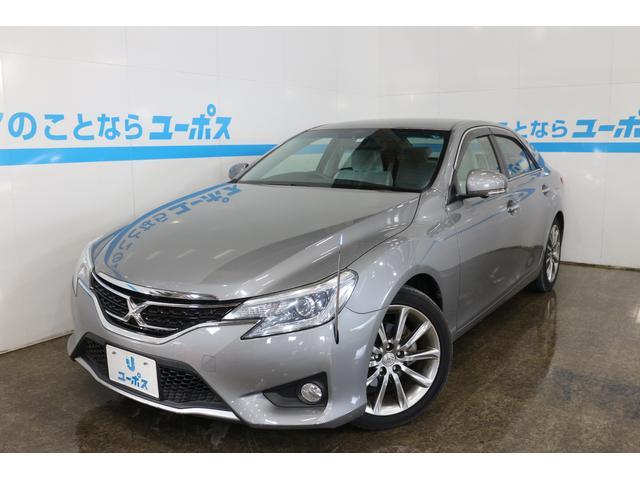 沖縄県の中古車ならマークX 250G Sパッケージ OP10年保証対象車 純正ナビ