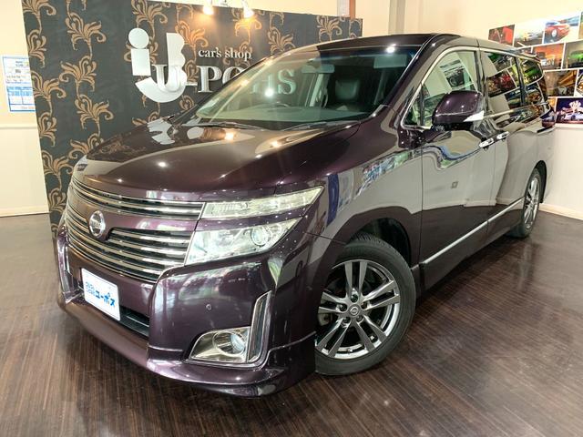 沖縄の中古車 日産 エルグランド 車両価格 155万円 リ済別 2011(平成23)年 6.8万km オーロラモーヴRP