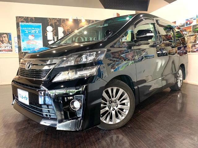 沖縄の中古車 トヨタ ヴェルファイア 車両価格 169万円 リ済別 2013(平成25)年 6.9万km ブラック