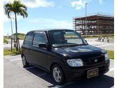 沖縄の中古車 ダイハツ ミラ 車両価格 18万円 リ済込 平成14年 7.9万K ブラック