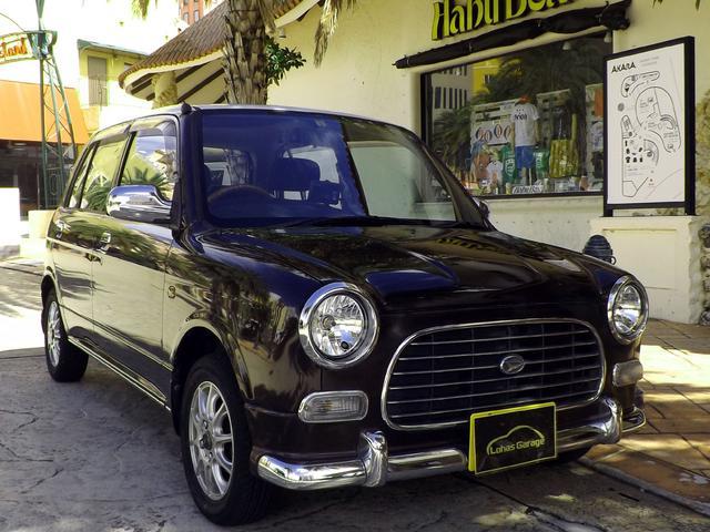 沖縄の中古車 ダイハツ ミラジーノ 車両価格 28万円 リ済込 平成12年 8.5万km ライトブラウンM