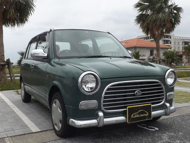 沖縄の中古車 ダイハツ ミラジーノ 車両価格 28万円 リ済込 平成13年 7.7万km グリーンII