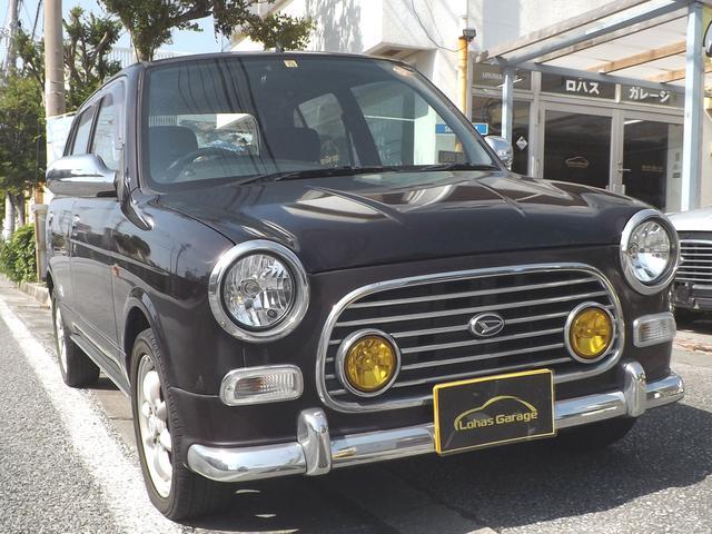 沖縄の中古車 ダイハツ ミラジーノ 車両価格 31万円 リ済込 平成13年 9.3万km ブラウンM