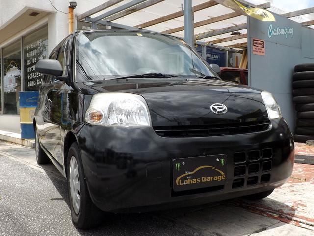 沖縄の中古車 ダイハツ エッセ 車両価格 22万円 リ済込 2010(平成22)年 8.4万km ブラックM