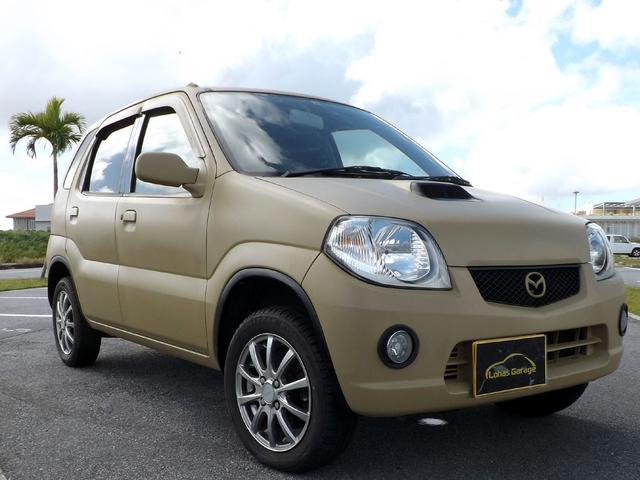 沖縄の中古車 マツダ ラピュタ 車両価格 24万円 リ済込 2002(平成14)年 8.5万km サンドカーキ