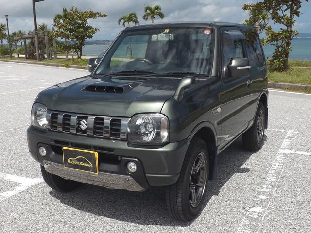 沖縄の中古車 スズキ ジムニー 車両価格 128万円 リ済込 2015(平成27)年 2.3万km グリーンM