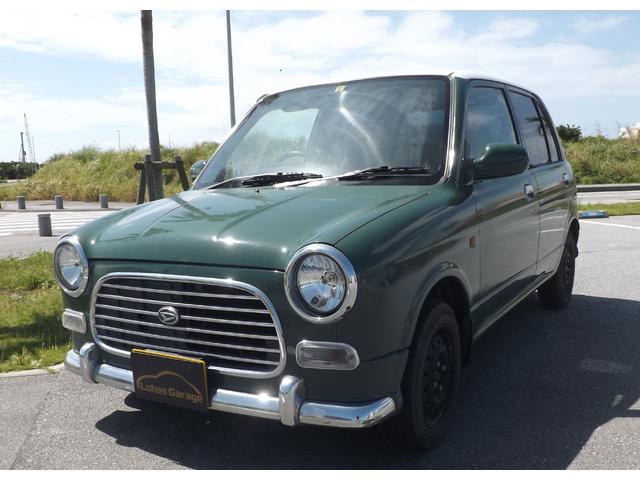 沖縄の中古車 ダイハツ ミラジーノ 車両価格 5万円 リ済込 1999(平成11)年 14.7万km シルバーM